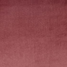 Velour - Rosebud - Luxurious cherry coloured fabric made from 100% polyester