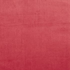 Velour - Fuchsia - Striking fabric made from vibrant claret coloured 100% polyester