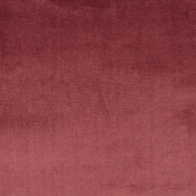 Velour - Damson - Luxurious fabric made from deep maroon coloured 100% polyester