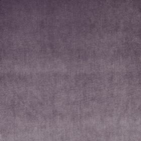 Velour - Mulberry - Dusky purple-grey coloured fabric made from 100% polyester