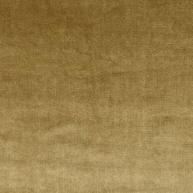 Velour - Gold - Dark gold coloured 100% polyester fabric