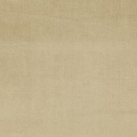 Velour - Sandstone - Plain latte coloured fabric made from 100% polyester
