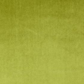 Velour - Grass - Light lime green coloured 100% polyester fabric finished with a soft texture