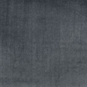 Velour - Royal - A soft textured finish to deep indigo coloured 100% polyester fabric