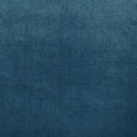 Velour - Indigo - 100% polyester fabric made in a rich marine blue colour