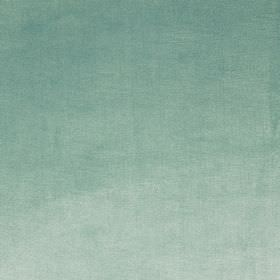 Velour - Azure - Duck egg blue coloured 100% polyester fabric finished with a soft texture
