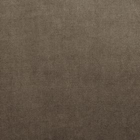 Velour - Camel - Dark cocoa brown coloured fabric made from 100% polyester