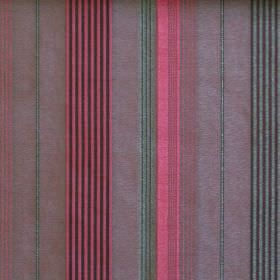 Laguna - Fuschia - Narrow and wide stripes of fuchsia pink, pale green and faded purple