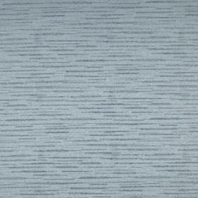Merlot - Larkspur - 100% polyester fabric in light powder blue, patterned with some light grey coloured horizontal streaks