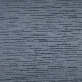Merlot - Slate - Denim blue coloured fabric made from 100% polyester, streaked by some horizontal dark grey coloured threads