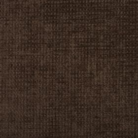 Barolo - Walnut - Dark brown coloured fabric made entirely from polyester