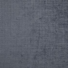 Barolo - Slate - Plain fabric made from 100% polyester in dark grey that has a hint of blue