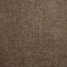 Barolo - Elephant - Warm walnut brown coloured 100% polyester fabric