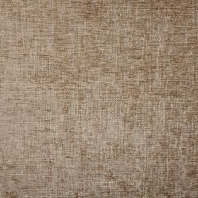 Rioja - Teak - Warm brown and silvery grey threads woven together into fabric containing 100% polyester