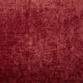 Rioja - Bordeaux - Slightly textured tomato red coloured 100% polyester fabric