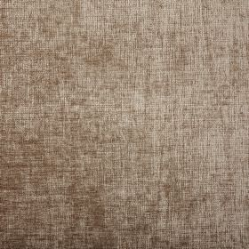 Rioja - Elephant - Slightly patchy, slightly textured coppery brown coloured 100% polyester fabric