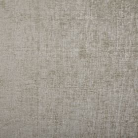 Rioja - Sterling - Light silver coloured 100% polyester fabric featuring a few slightly darker patches