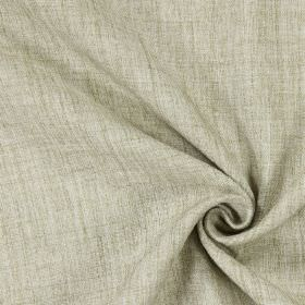 Cherry - Flax - Plain flax brown fabric