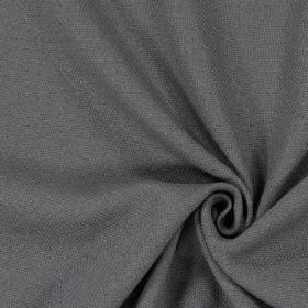 Oak - Slate - Plain slate grey fabric