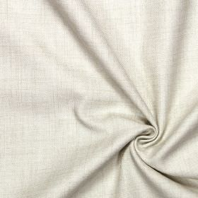 Pine - Linen - Plain linen white fabric