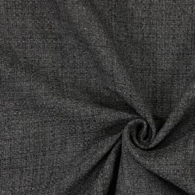Chestnut - Shale - Plain shale black fabric