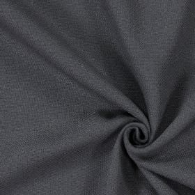 Oak - Onyx - Plain onyx black fabric