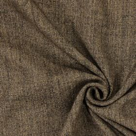 Teak - Tobacco - Plain tobacco brown fabric