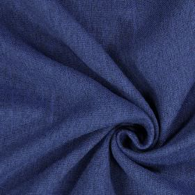 Elm - Cobalt - Plain cobalt blue fabric