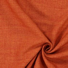 Pine - Terracotta - Plain terracotta orange fabric