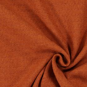 Ash - Copper - Plain copper orange woven fabric