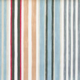 Truro - Seaspray - Seaspray blue striped fabric