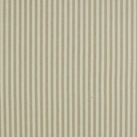Fairfield - Sandstone - Two different shades of grey making up a simple, thin vertical stripe pattern on fabric blended from linen and cotto