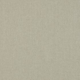 Lindale - Sandstone - Two very light shades of grey making up a very subtle herringbone design on fabric containing a mix of linen and cotto