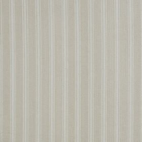 Coniston - Natural - Two very similar shades of pale grey creating a very subtle vertical stripe design on fabric made from linen and cotton