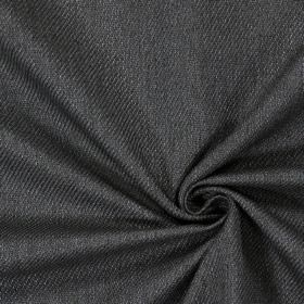 Wensleydale - Anthracite - Plain anthracite black fabric