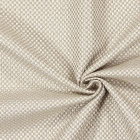 Bedale - Flax - Plain woven flax sandy fabric