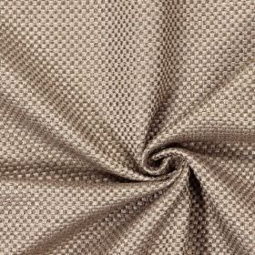 Bedale - Hemp - Plain woven hemp brown fabric