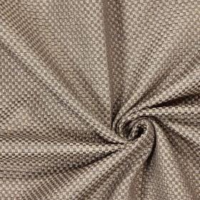 Bedale - Pewter - Plain woven pewter grey brown fabric