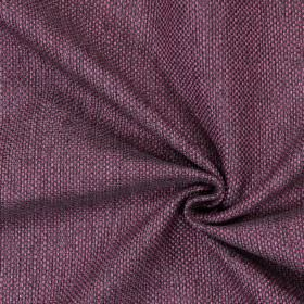 Nidderdale - Mulberry - Plain woven mulberry purple fabric