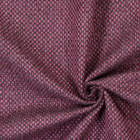 Bedale - Mulberry - Plain woven mulberry purple fabric