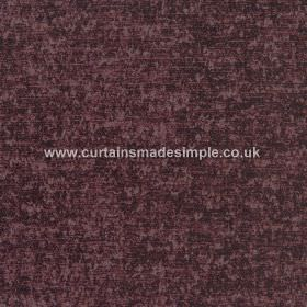 Zanzibar - Redwood - Mottled dark brown-purple coloured hard wearing fabric, with some areas looking even darker