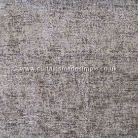 Zanzibar - Mink - Fabric of the hard wearing variety made in mottled shades of grey with subtle gold tinges