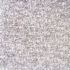 Zanzibar - Silver - Mottled hard wearing fabric in bright white and light grey