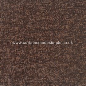 Zanzibar - Mahogany - Dark shades of grey and brown making up the mottled, patchy colouring for this hard wearing fabric