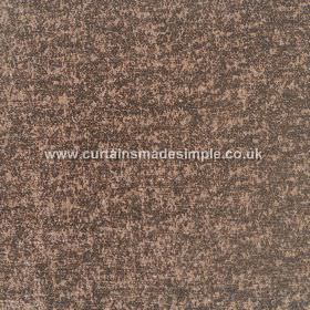 Zanzibar - Beech - Brown and charcoal coloured mottled hard wearing fabric