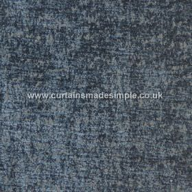 Zanzibar - Colonial - Midnight and dusky blue coloured mottled fabric which is hard wearing and very slightly textured