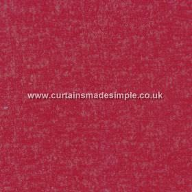 Zanzibar - Cardinal - Light grey mottling hard wearing fabric the colour of cherries