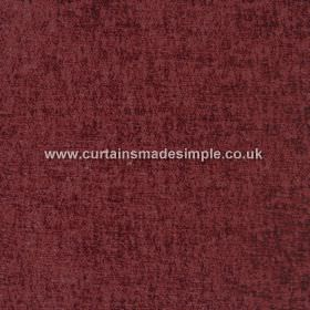 Zanzibar - Burgundy - Dark marroon coloured hard wearing fabric which appears to be mottled with a slightly darker shade