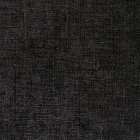 Zephyr - Onyx - Hard wearing threads woven into this plain black fabric