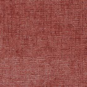 Zephyr - Terracotta - Dark red-brown coloured hard wearing fabric which has some cream coloured threads